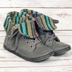Blowfish Grey Boots